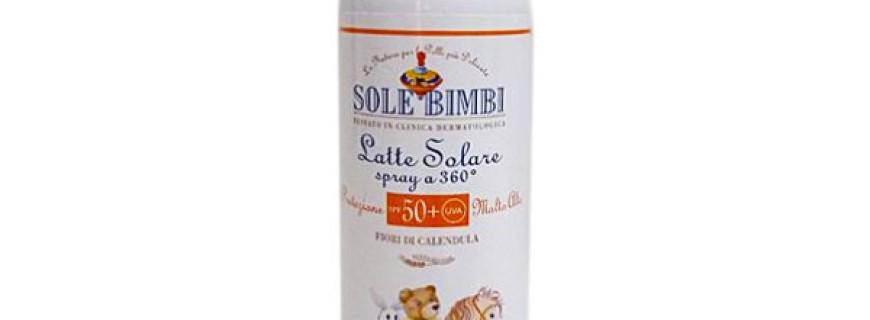 LATTE SOLARE SPRAY PROTEZIONE MOLTO ALTA SPF 50+